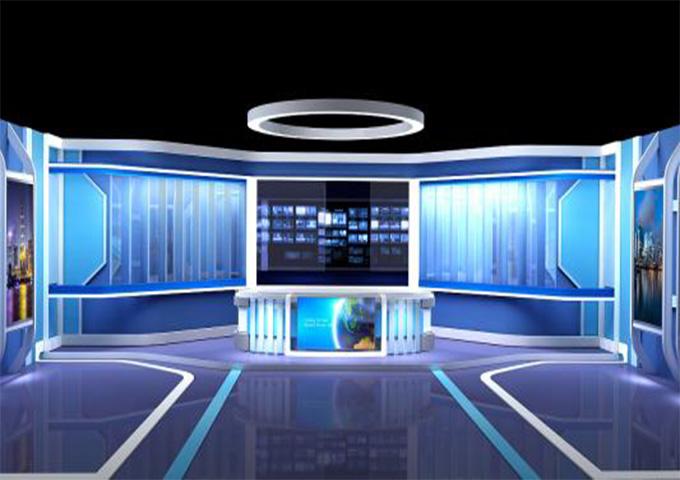 吉林虚拟演播室 应用,虚拟演播室