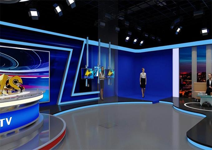 佛山虚拟演播室高清,虚拟演播室