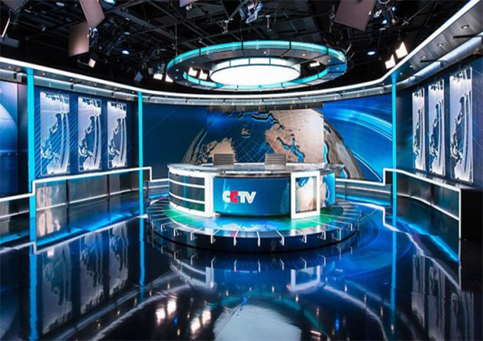 宁波虚拟演播室蓝箱,虚拟演播室