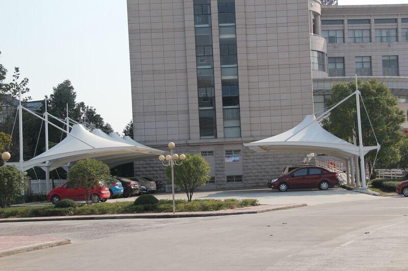 上海膜结构景区停车棚直销