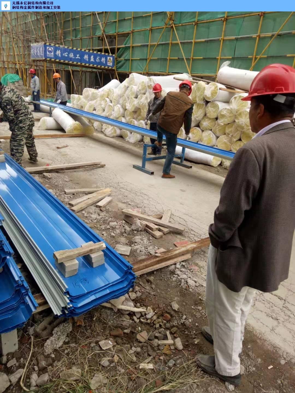金山区彩钢板搭建「无锡永亿钢结构供应」