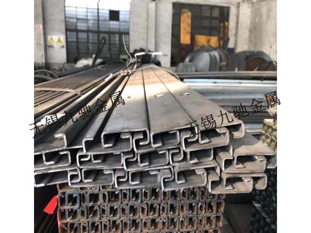 普陀区综合杆C型卡槽现货 无锡市九驰金属制品供应