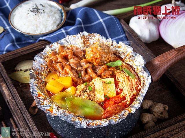 湖州锡纸遇上饭快餐店加盟 杭州优溪味餐饮管理供应