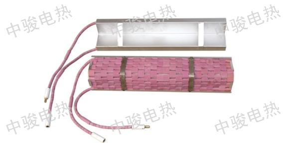 四川履带式陶瓷电加热带厂 创新服务 苏州中骏电热设备供应