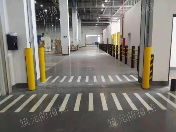 河南卸货月台防撞柱 欢迎来电 筑元门业供应