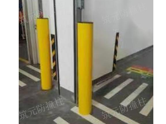 安徽柔性防撞柱供应商 值得信赖 筑元门业供应