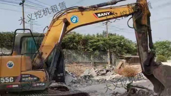 桐乡微型挖机租赁
