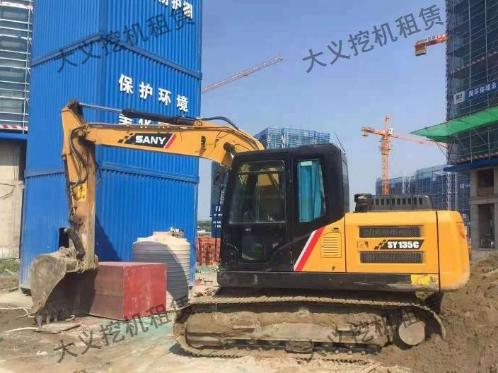浙江挖机租赁服务电话