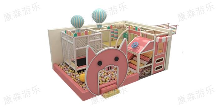 寧夏大型室內淘氣堡哪里好 推薦咨詢「浙江康森游樂設備供應」