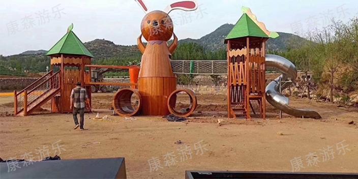 江北区找幼儿园木质滑梯