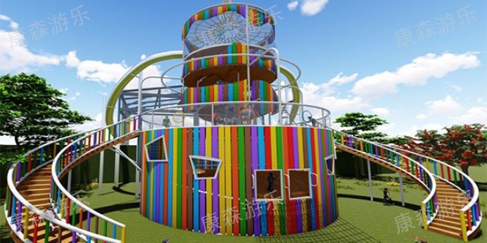 河北学校幼儿园木质滑梯怎么制作 抱诚守真「浙江康森游乐设备供应」