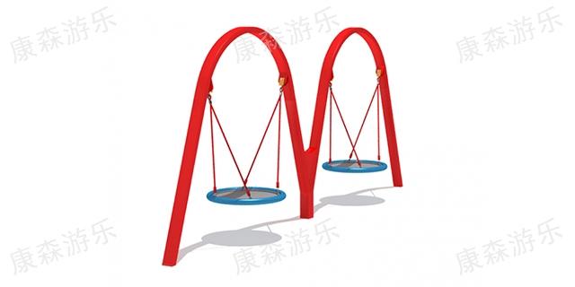 陕西大型户外秋千材质 铸造辉煌 浙江康森游乐设备供应
