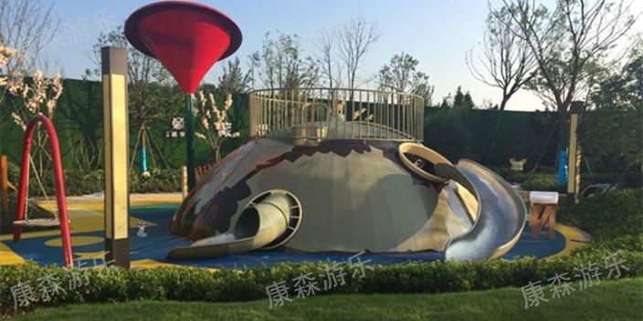 贵州室内滑梯材质 信息推荐「浙江康森游乐设备供应」