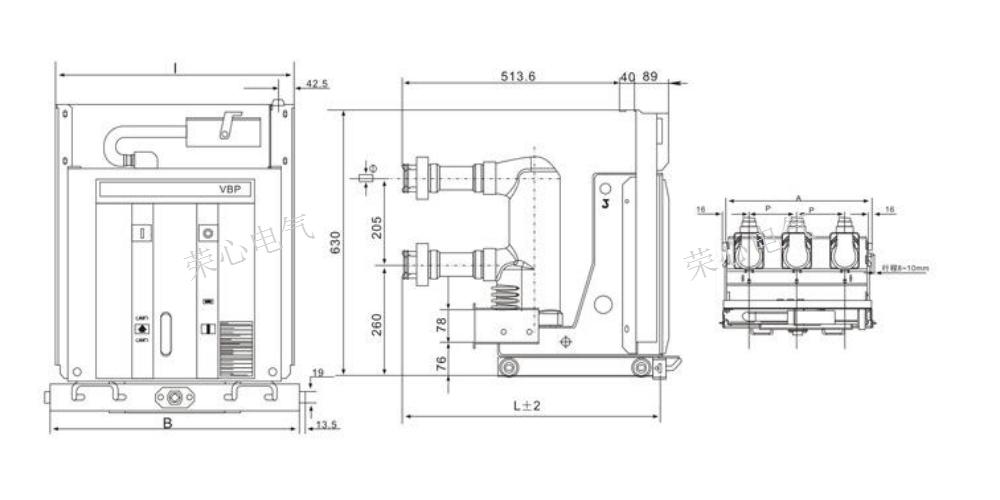 陕西机芯断路器断路器断路器配件 荣心电气供应