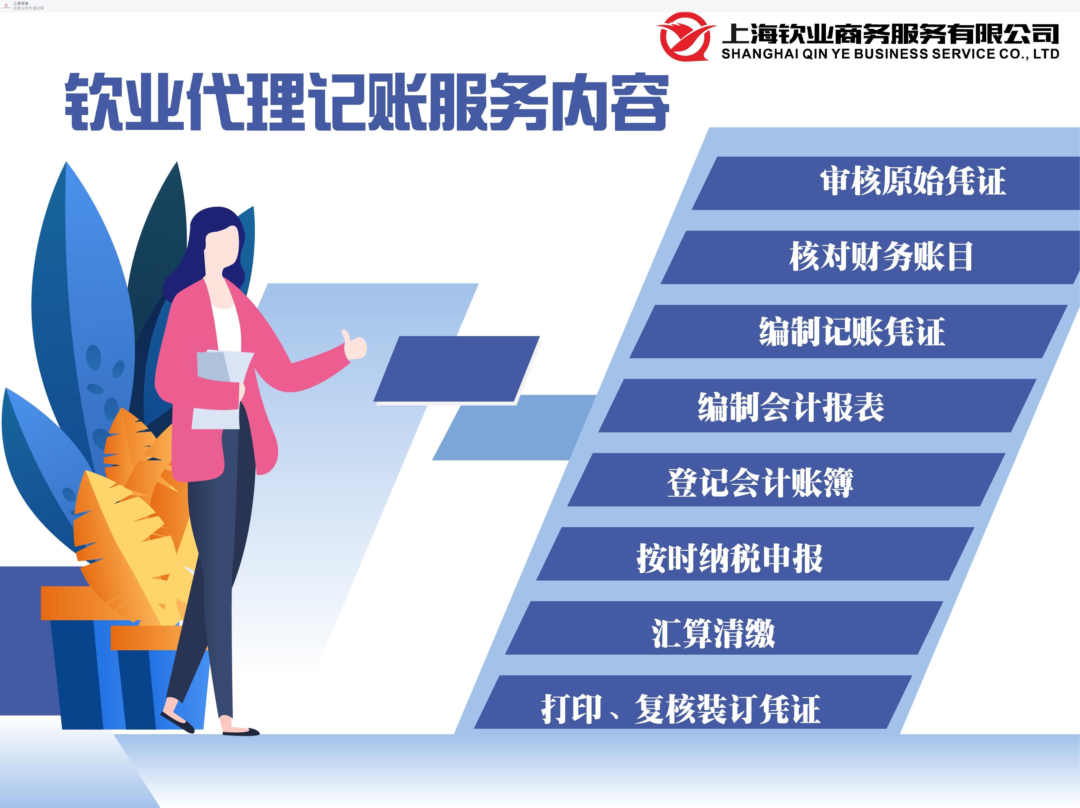 寶山合伙代理記賬步驟 服務為先「上海欽業商務服務供應」