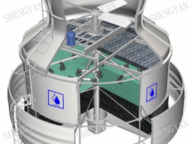 吳中區方型橫流式冷卻塔生產廠家 信息推薦「無錫晟衍環保設備供應」
