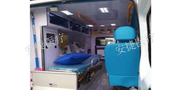 石河子120救护车中心「安捷医疗护送转运供应」