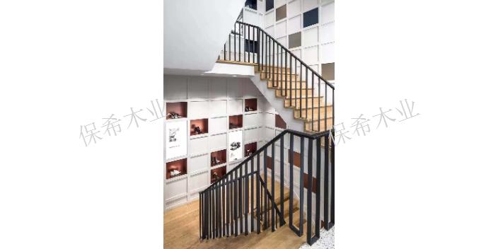 浙江复式钢木楼梯现货