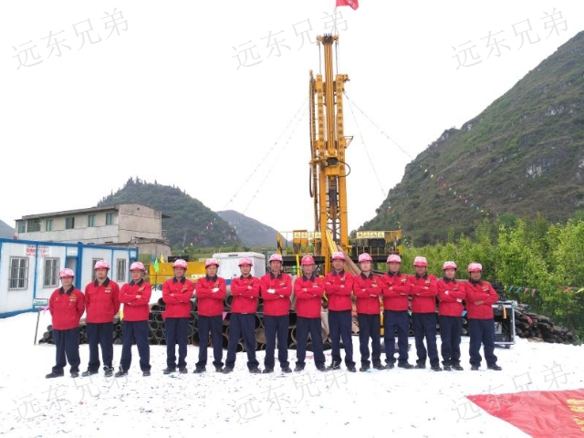 云南履带钻机出租 贴心服务 贵州远东兄弟钻探供应