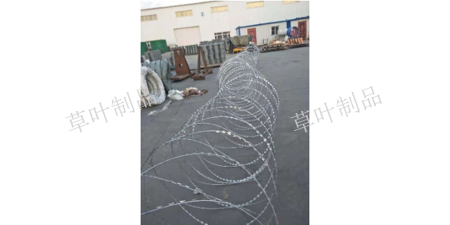 新疆刀片刺丝厂家直销 新疆草叶金属制品供应