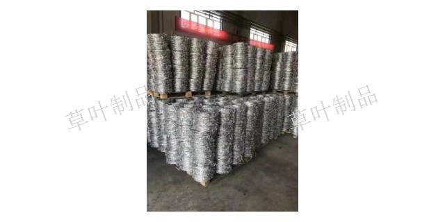 乌鲁木齐刀片刺绳价格 新疆草叶金属制品供应