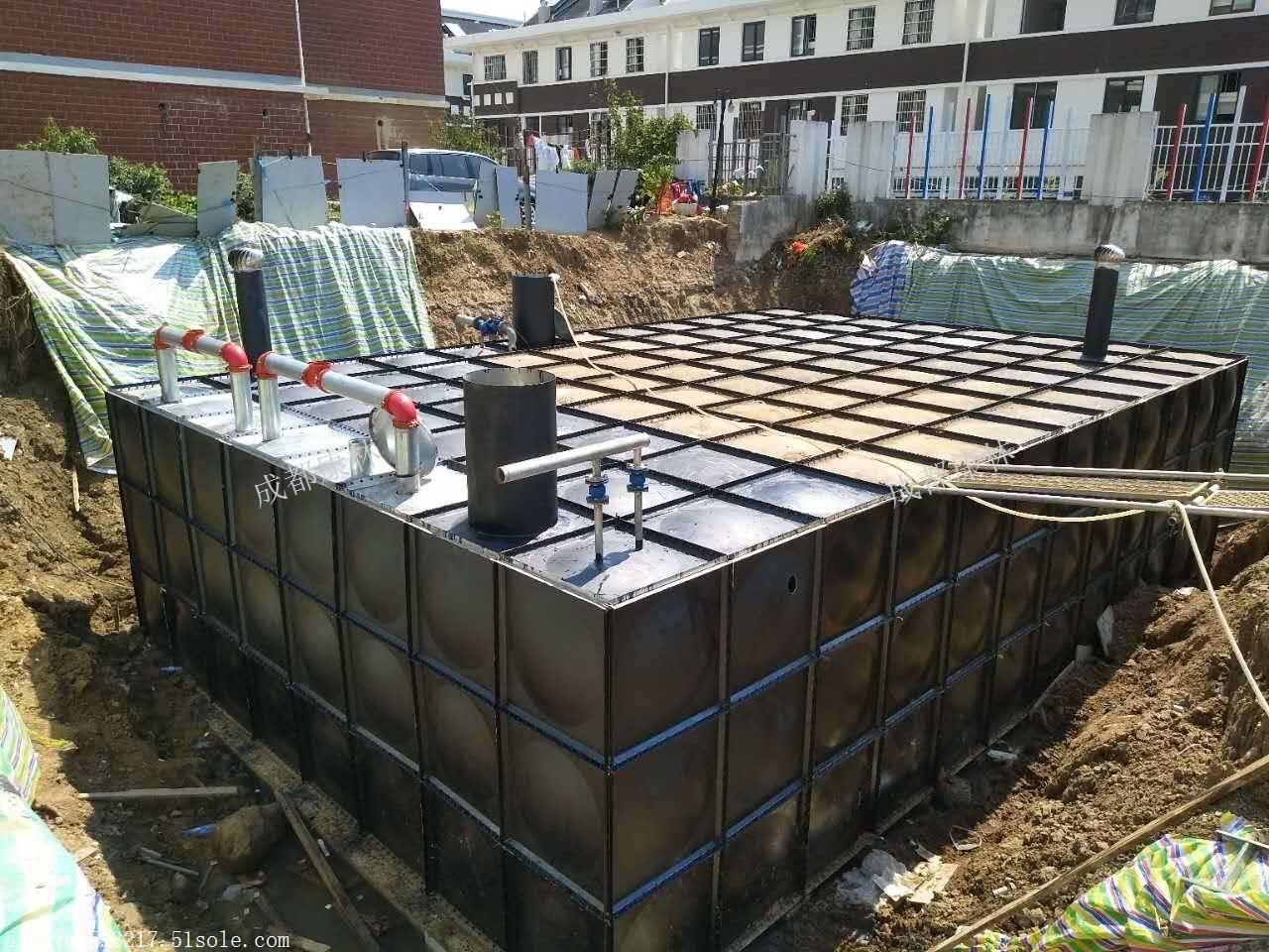 广元不锈钢水箱报价/乐山不锈钢水箱价格低/南充不锈钢水箱安装