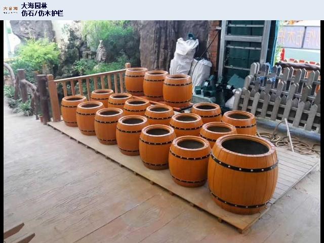 钦州仿竹栏杆定制 欢迎咨询「广西大海园林景观工程供应」