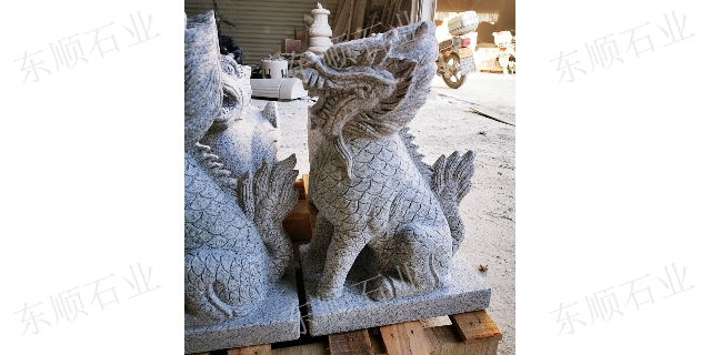 嘉祥龙龟石雕生产