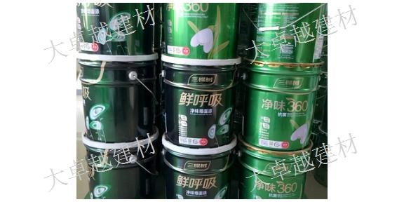 吐魯番三棵樹乳膠漆銷售 烏魯木齊大卓越建材供應