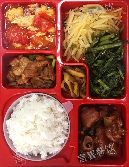 金山区定制盒饭菜谱