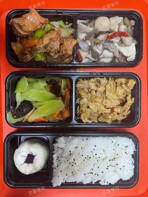 上海特色盒饭菜单
