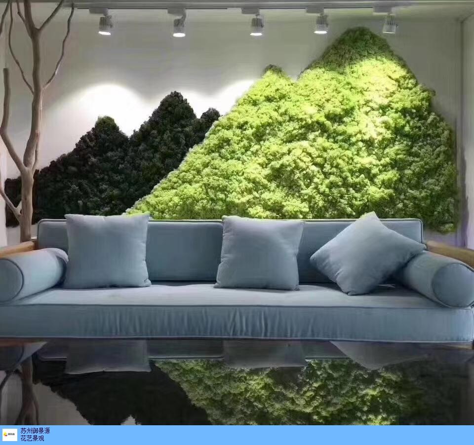 仿真植物墙施工,植物墙