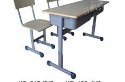 成都小学课桌椅厂家直销 餐桌椅厂家 贵州百顺昌钢结构供应