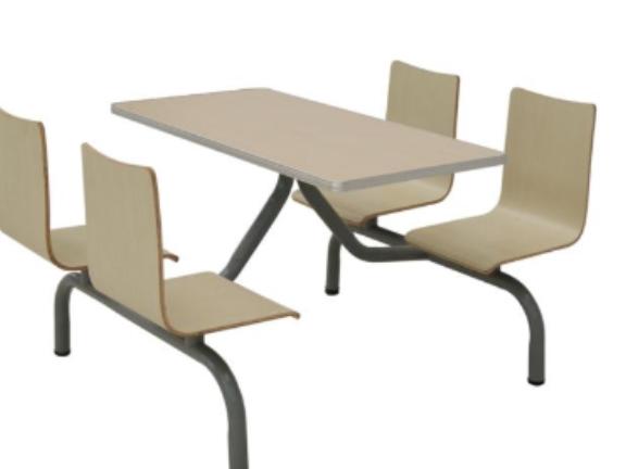 贵州不锈钢餐桌椅 和谐共赢 贵州百顺昌钢结构供应
