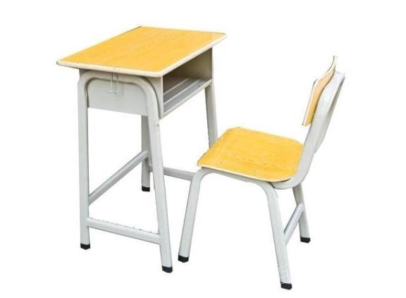 成都单人课桌椅厂家 欢迎来电 贵州百顺昌钢结构供应