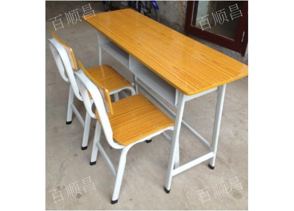 重庆学生课桌椅公司 诚信经营 贵州百顺昌钢结构供应