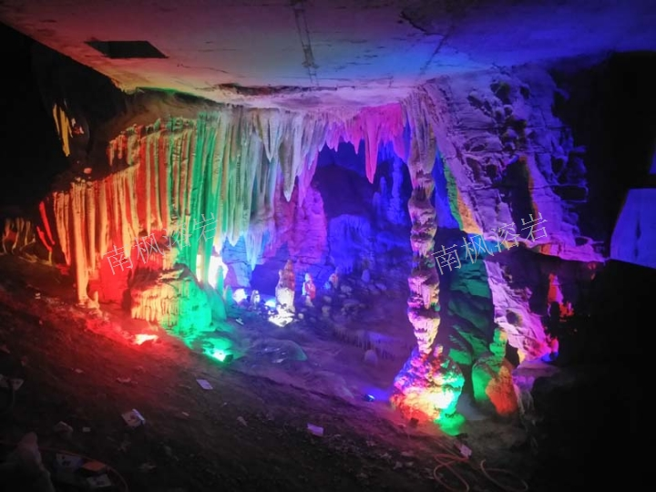 寧夏人造溶洞景觀雕塑公司