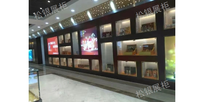 貴陽鈦合金展柜廠家直銷 歡迎咨詢 貴州松銀展柜供應;