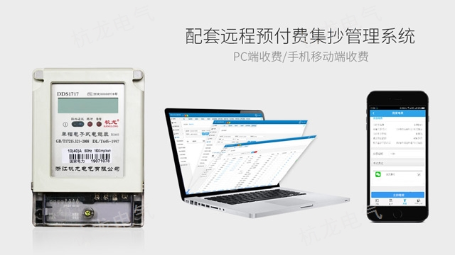 山東壁掛式電表生產 誠信為本「浙江杭龍電氣供應」