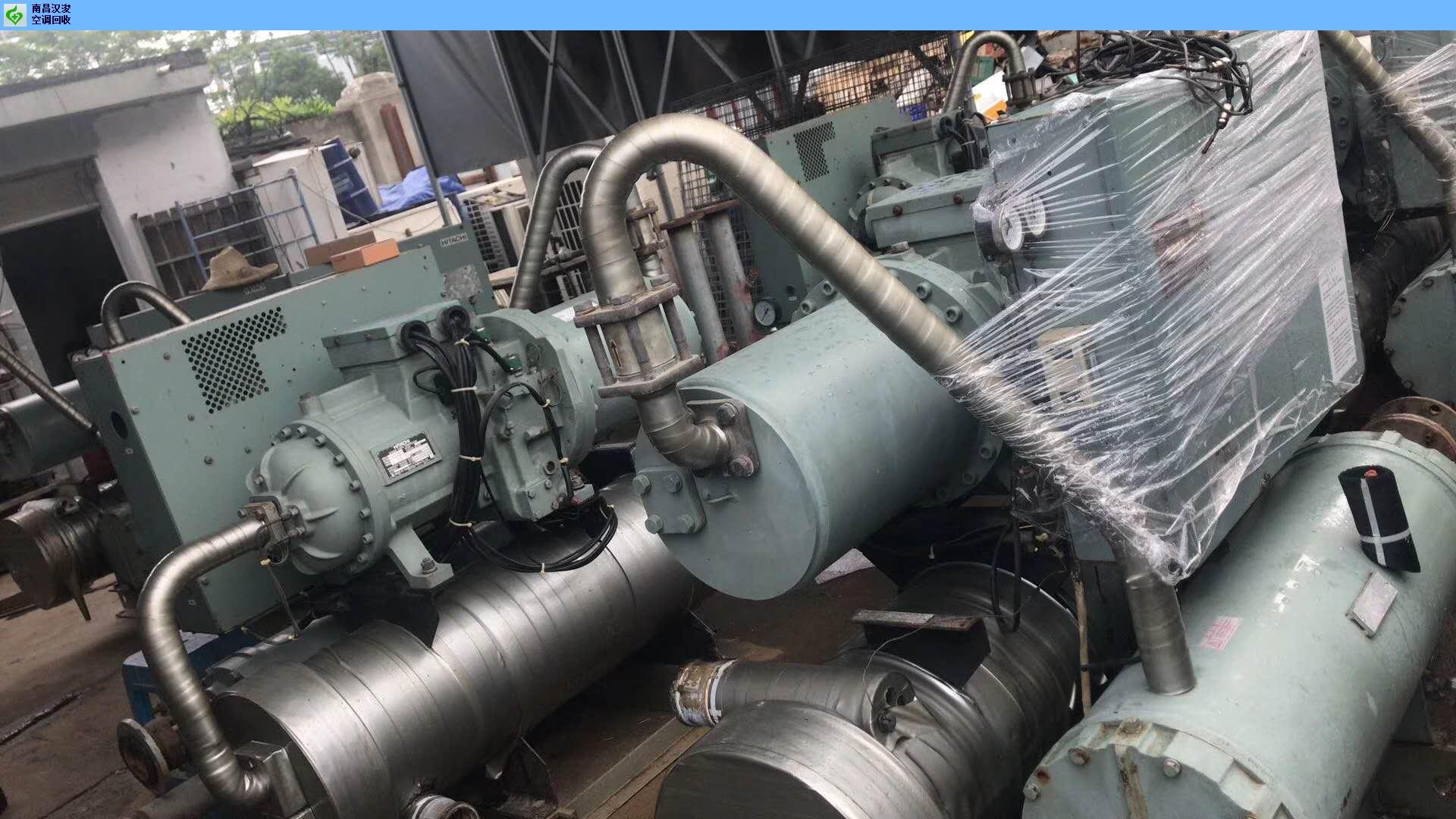 广丰区工地中央空调回收价格 创新服务 南昌汉浚机电设备供应