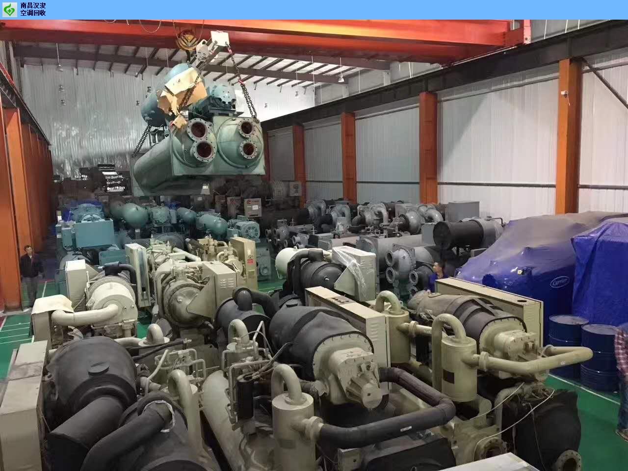 青云谱区中央空调回收电话号码 南昌汉浚机电设备供应「南昌汉浚机电设备供应」