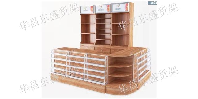阿勒泰母婴店收银台定制 华昌东盛货架商用设备供应