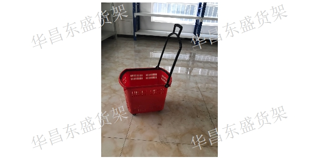 阿克苏手推车定制 华昌东盛货架商用设备供应