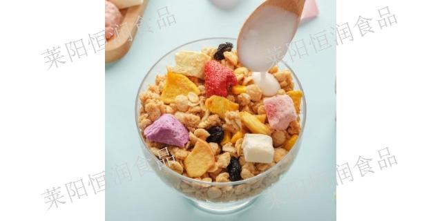 上海低温烘焙麦片散装厂家批发 休闲零食「莱阳恒润食品供应」
