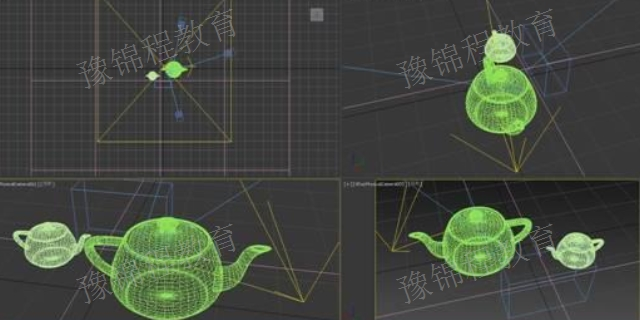 郑州哪里可以学3D效果图 来电咨询 河南豫锦程教育科技供应