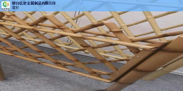 承德绿色仿竹护栏竹子围栏 来电咨询 邢台弘更金属制品供应