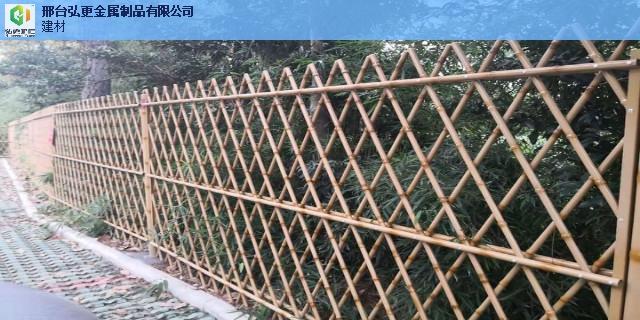 无锡防护仿竹护栏仿竹节栅栏 推荐咨询 邢台弘更金属制品供应