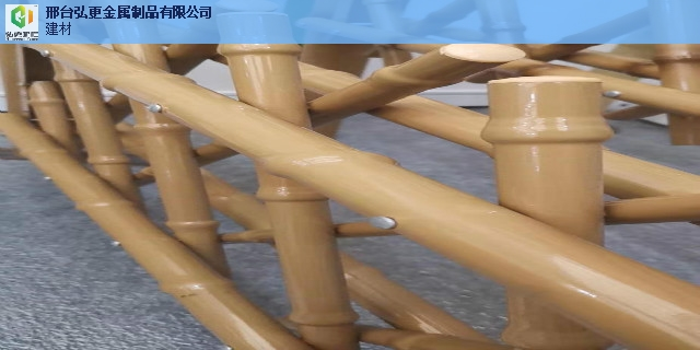 唐山防护仿竹护栏仿竹节护栏 推荐咨询 邢台弘更金属制品供应