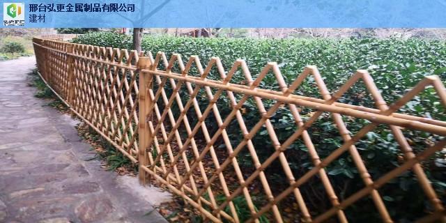 南京防护仿竹护栏仿竹节护栏 来电咨询 邢台弘更金属制品供应