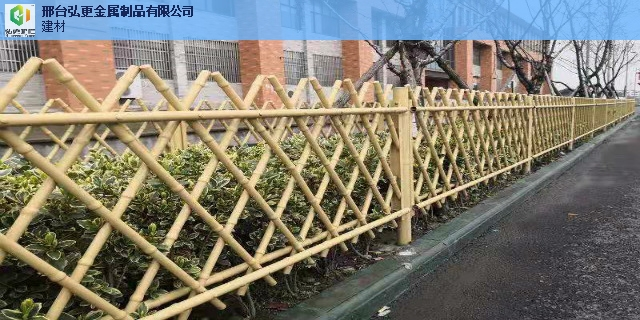 常州环保仿竹护栏景观墙 推荐咨询 邢台弘更金属制品供应